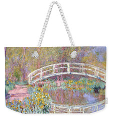 Bridge In Monet's Garden Weekender Tote Bag