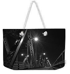 Bridge Night Weekender Tote Bag