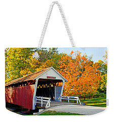 Bridge Of Madison County Weekender Tote Bag by Sennie Pierson