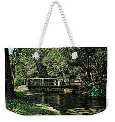 Bridge Of Serenity Weekender Tote Bag