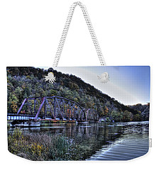 Bridge On A Lake Weekender Tote Bag by Jonny D