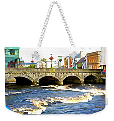 Bridge On The Garavogue Weekender Tote Bag