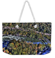 Bridge Over River Weekender Tote Bag by Jonny D