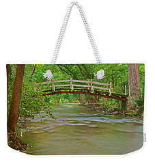 Bridge Over Valley Creek Weekender Tote Bag