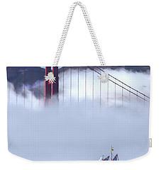 Bridge Sailing Weekender Tote Bag