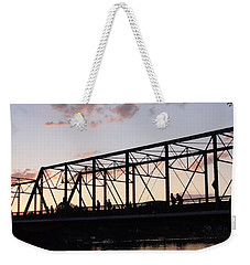 Bridge Scenes August - 1 Weekender Tote Bag