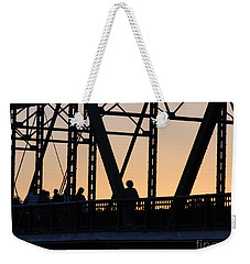 Bridge Scenes August - 2 Weekender Tote Bag