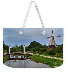 Bridge To Holland Windmill Weekender Tote Bag