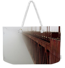 Bridge To Obscurity Weekender Tote Bag by Bill Gallagher