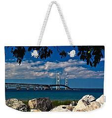 Bridge To The U.p. Weekender Tote Bag