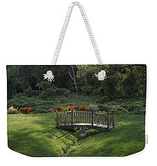 Bridge To Tranquility  Weekender Tote Bag by Karen Silvestri