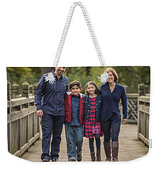 Bridge Walk - Group Hug Weekender Tote Bag