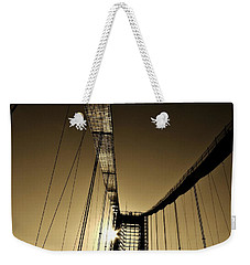 Bridge Work Weekender Tote Bag by Robert Geary