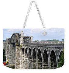 Bridging The Boyne Weekender Tote Bag