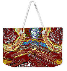 Bridge To Holy Grail Of Mystical Energies Whimisical Abstract By Navinjoshi At Fineartamerica.com  Weekender Tote Bag