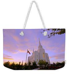 Brigham City Temple I Weekender Tote Bag