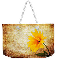 Bright And Yellow Weekender Tote Bag