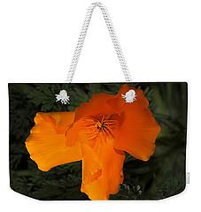 Bright California Poppy Weekender Tote Bag by Phyllis Denton