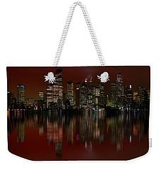 Bright Lights Weekender Tote Bag by Stuart Turnbull