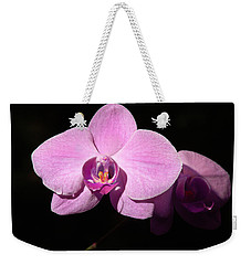 Bright Orchid Weekender Tote Bag