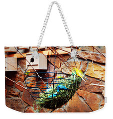 Bright Wings Weekender Tote Bag