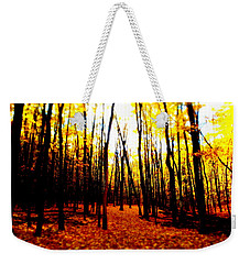 Bright Woods Weekender Tote Bag