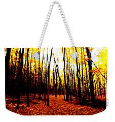 Bright Woods Weekender Tote Bag