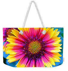 Weekender Tote Bag featuring the photograph Brilliance by Deena Stoddard