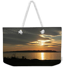 Weekender Tote Bag featuring the photograph Brilliance by Jean Goodwin Brooks