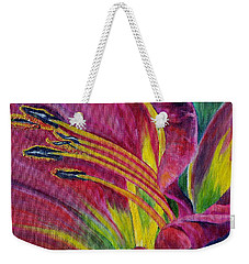 Brilliance Within Weekender Tote Bag by Marilyn  McNish