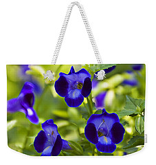 Brilliant Blues  Weekender Tote Bag