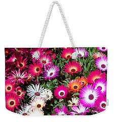 Brilliant Flowers Weekender Tote Bag by Chalet Roome-Rigdon
