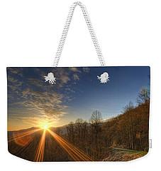 Brilliant Rays Weekender Tote Bag