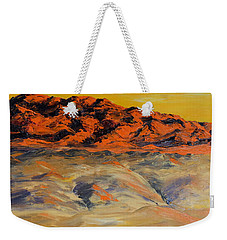 Brilliant Montana Mountains And Foothills Weekender Tote Bag