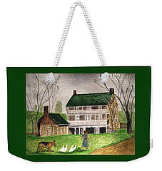Bringing Home The Ducks Weekender Tote Bag
