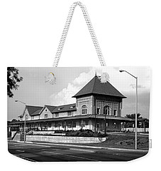 Bristol Train Station Bw Weekender Tote Bag