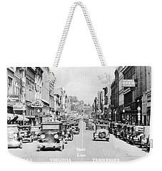 Bristol Virginia Tennessee State Street 1931 Weekender Tote Bag