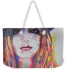 Britney Spears Weekender Tote Bag by Chrisann Ellis