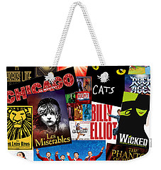 Broadway 1 Weekender Tote Bag