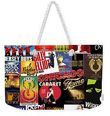 Broadway 4 Weekender Tote Bag