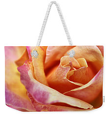 Broadway Hybrid Tea Rose Weekender Tote Bag by Jason Politte