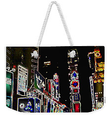 Broadway Weekender Tote Bag