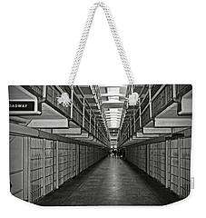 Broadway Walkway In Alcatraz Prison Weekender Tote Bag