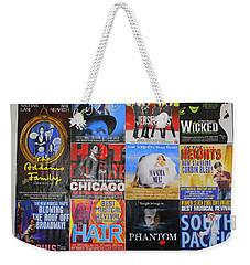 Broadway's Favorites Weekender Tote Bag