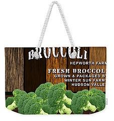 Broccoli Farm Weekender Tote Bag