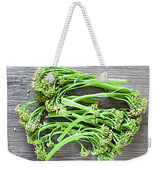 Broccoli Stems Weekender Tote Bag