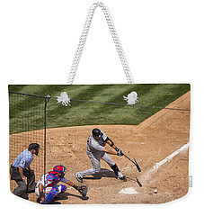 Broken Bat Weekender Tote Bag