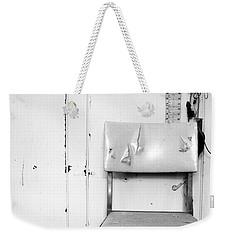 Broken Chair Weekender Tote Bag by Carsten Reisinger