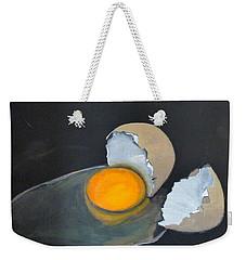 Broken Egg Weekender Tote Bag
