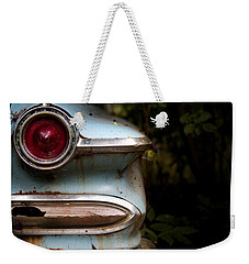 Weekender Tote Bag featuring the photograph Broken Elegance by Rebecca Davis